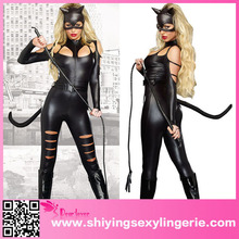 Luxury Wholesale Fight Cheap Women Sexy Cat Costumes