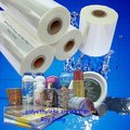 Polyolfien shrink wrap film for magazines