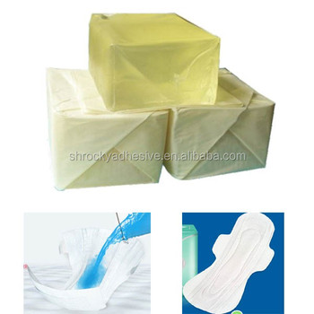 hot melt adhesive (block shape)for baby breathing towels diaper