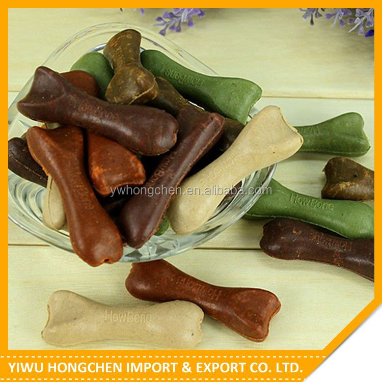 New product custom design bone dog treat pet food manufacturer sale