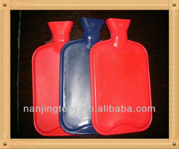 rectangle 2000ml rubber hot water bottle