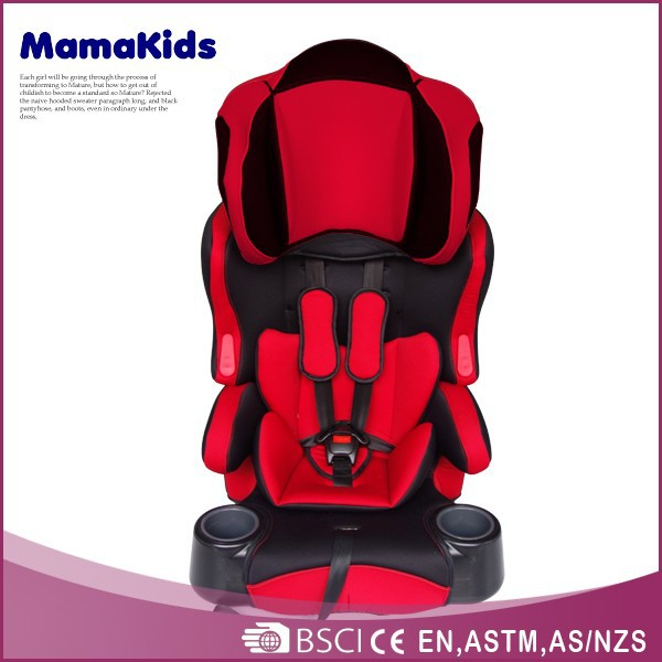 Group 1+2+3 baby car chair top quality 0-12 years old child safety car seat