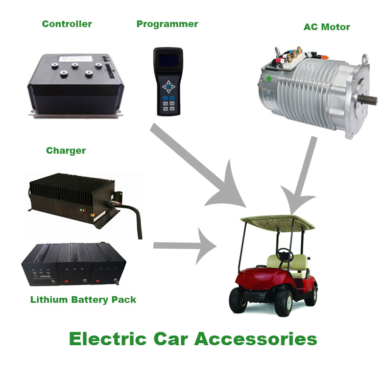 3.5KW High Performance Used Golf Cart Motor AC Electric Motor