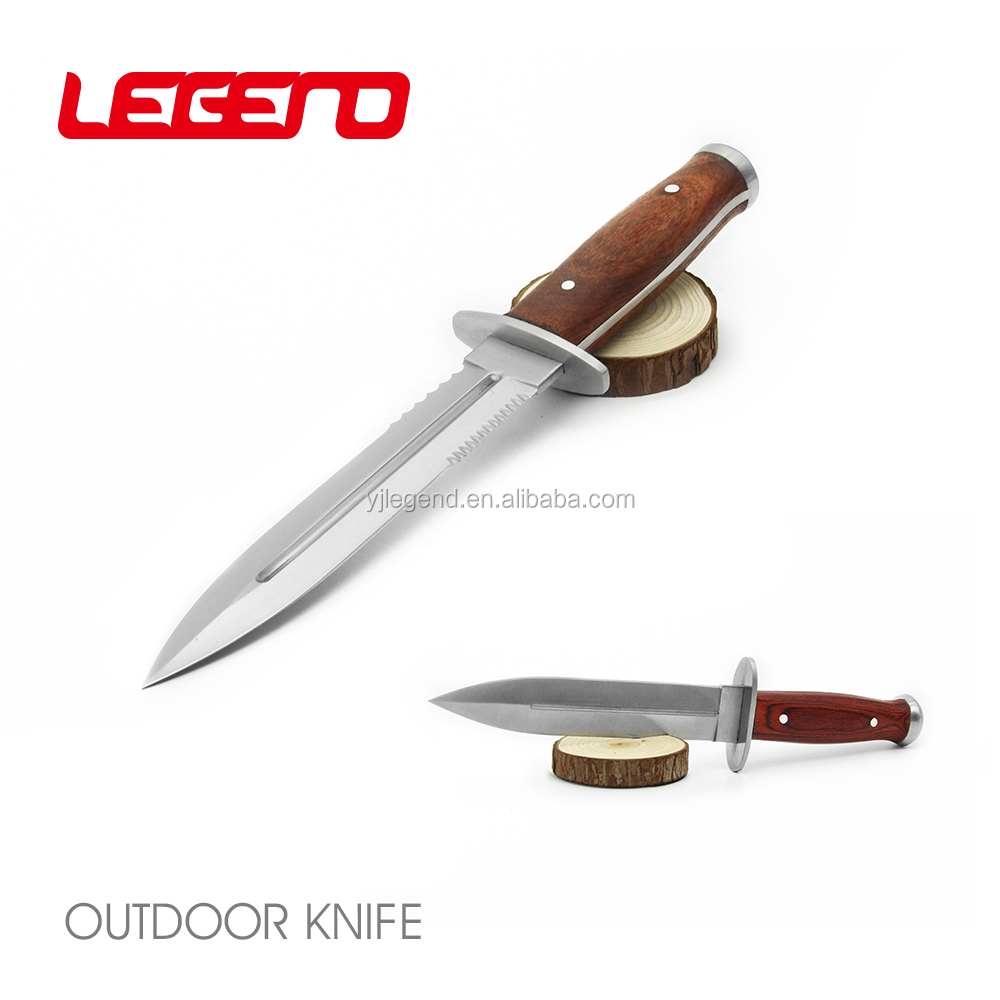 HK073 High quality handmade double edge fixed blade sword hunting knife survival knife cs tactical knife