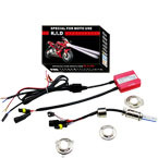 Super moto kit xenon, single bulb kit, moto hid kit