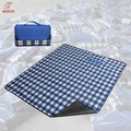 Briefcase style outdoor equipment picnic pad damp proof blanket