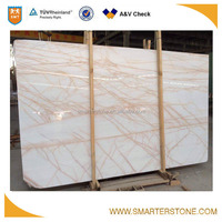 Imported white marble with red veins hot selling