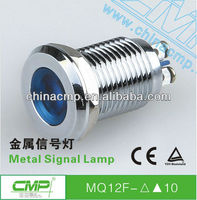 CMP metal waterproof 12mm led indicator light 120V (TUV CE)
