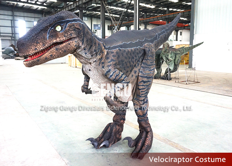 Adult Realistic Walking Roar Dinosaur Costume