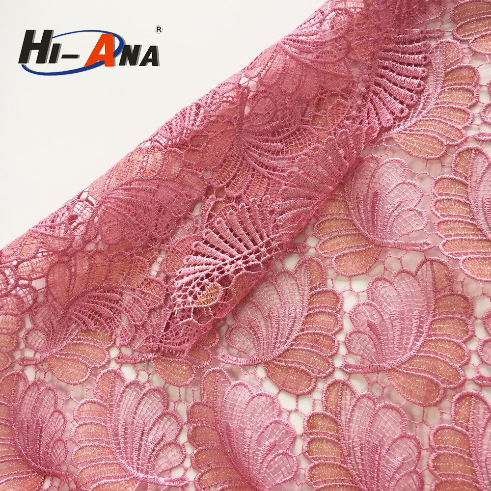 hi-ana fabric3 Cooperate with brand companies new design fabric for party dress