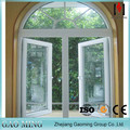 Gaoming blind inside double glass window, casement,sliding, arched, fixed aluminium window manufacturer