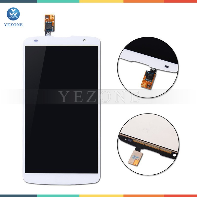 High Quality White Mobile Phone Lcd Touch Screen for LG G Pro 2 F350 D837 D838