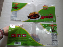 Nylon Poly Food Grade Vacuum Packaging Bag For Marinated Daing With Clear Window