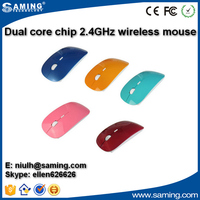 2016 wholesale computer 2.4g fashionable wireless mouse