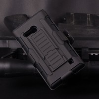 2015 Best Selling Armor Impact Holster Belt Case For nokia lumia n710 ,For N710 mobile phone Case