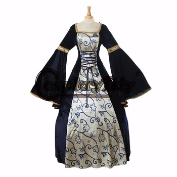 medieval dress cosplay costume women's fancy dress custom made