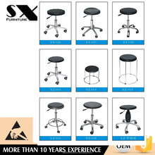 heavy duty adjustable height science lab stool chair/esd bar chair/hospital chair