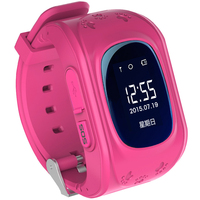 New hot cheap kid gps tracker smart watch