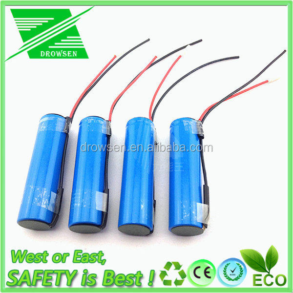 LI-ION KING 3.7V lithium 18650 battery 2AH 2.2ah 18650 Lithium ion Battery deep cycle life cells