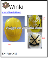 HDPE Safety Helmet No EN397 Certificate ,Available For Lots Of Color
