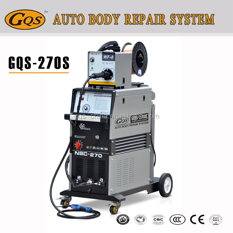 Multifunctional car body welder with separate wire feeder
