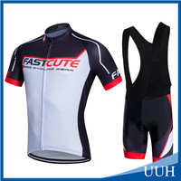 2016 hot selling cycling clothes for men short sleeve custom supported
