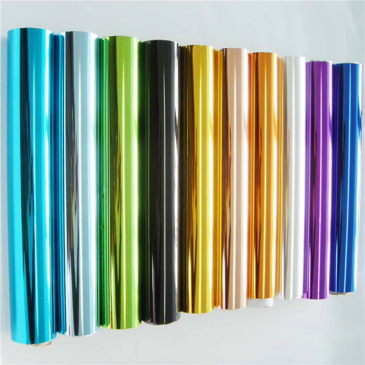 Different color hot stamping foil for tubes