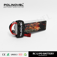 lipo battery 7.4v 2s 2200mAh 25cbatterie lipo drone with XT connector