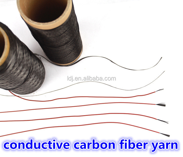 Good heat conduction and electrical conductivity carbon fiber filament yarn
