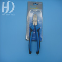 power leverage combination pliers double color hardware tools