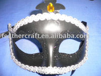 Fashional hot sale feather mask
