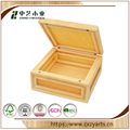The food grade handmade solid wooden culinary packaging boxes
