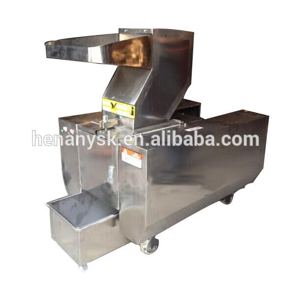 Meat Bone Grinder Stainless Steel High Output Automatic Bone Broken Machine Bone Crusher Machine for Sale