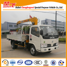 Dongfeng 100HP 4x2 truck mounted mobile crane