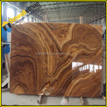 Chinese copper yellow marble slab up1200mm x up2400mm polished