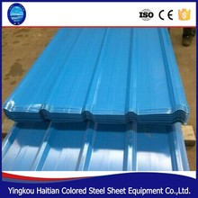 Building material glazed galvanized corrugated prepainted mix color coated cold rolled roofing sheet tiles