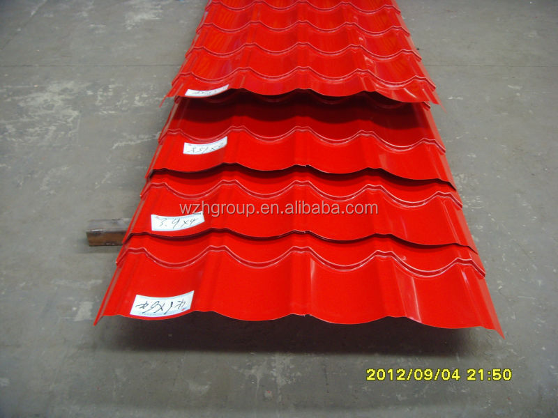 YX25-210-840 metal roofing sheet design for prefab house roof