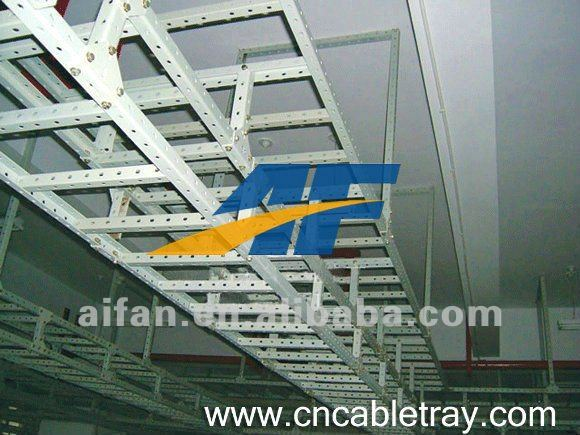 metal and aluminum cable tray steel cable tray trunking ladder