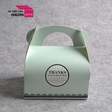 Custom craft paper folding cosmetics box for gifts