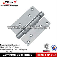 Door hinge, fire rated door hinges
