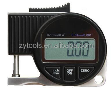 Mini digital thickness gauge