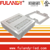 70w gas station led canopy lights/2013 latest 200w hps replaced led gas station light