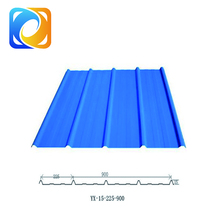 Safety corrugated steel roofing sheet iron roof sheets