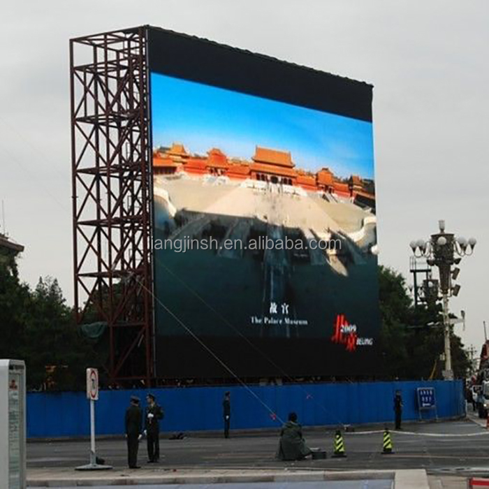 China direct manufacturer outdoor p6 p8 p10 Led advertising display