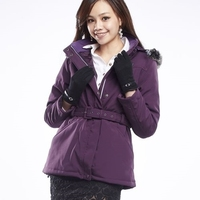 Fashion Portable Heated Women Hooded Jacket