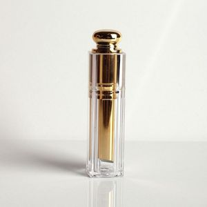 China Gold Manufacturer New Design empty lipstick tube comestic