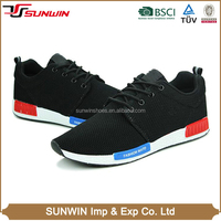 2016 Hot sale simple design casual running sneaker running sport shoes