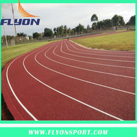 Sport facility for outdoor and indoor 13mm athletic track for flooring