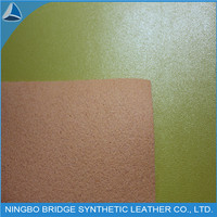 New Product Synthetic Pu Shoe Material Leather