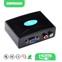 Good Price Mini VGA To HDMI TV Converter Box Support 1080P